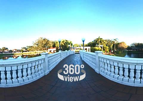 360 View of Country Club