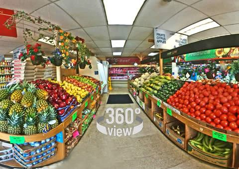 360 View of Retail Shop